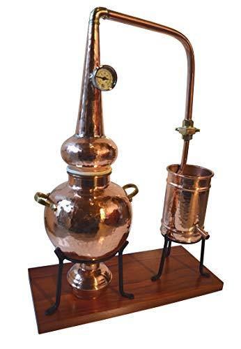 Dr. Richter 2L Destille Modell Schottland High-End Destillieranlage 2 Liter mit Thermometer