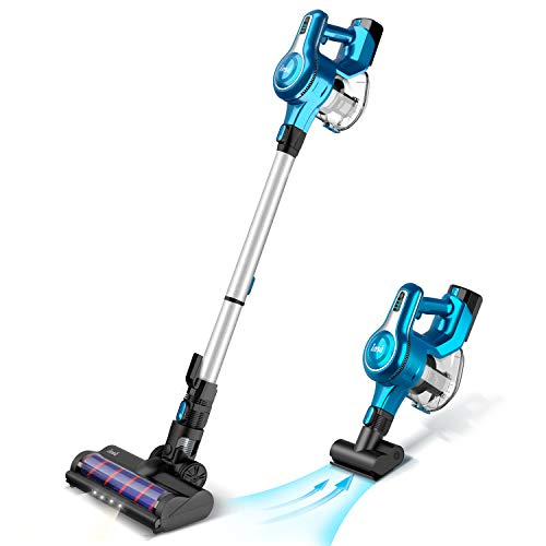 Best Buy! INSE Cordless Stick Vacuum Cleaner, 23KPa Powerful Suction with 250W Motor, Stick Handheld...
