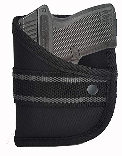 Garrison Grip Custom Fit Woven Pocket Holster Fits Kel-Tec P3AT 380 w/or w/o Laser (W2)