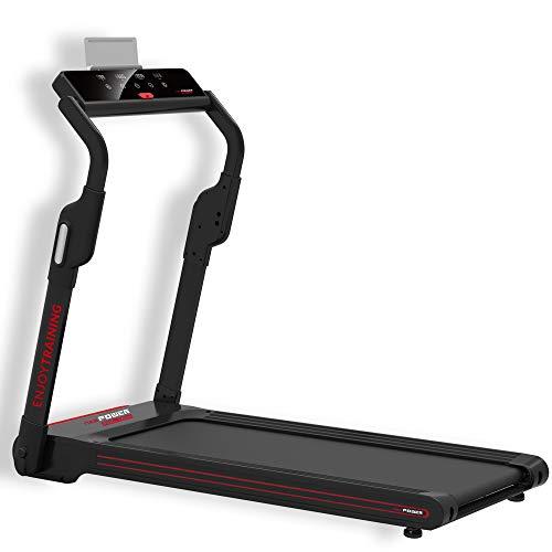 NEWPOWER - Cinta de Correr Eléctrica Plegable FeelTech (1000W) Hasta 12km/h con Soporte para Tablet