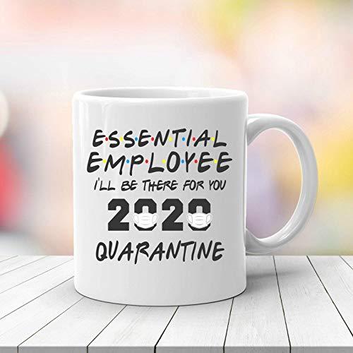 N\A Empleado Esencial 2020 Cuarentena, médico farmacéutico, Camisa de distanciamiento Social, Camisa de cuarentena, Camisa introvertida, Trabajador Sanitario