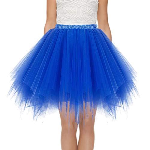 Faldas Tul Mujer Enaguas Cortas Tutus Plisada Ballet Bridesmay Enaguas Fiesta Mini Tutu Color Mezclado