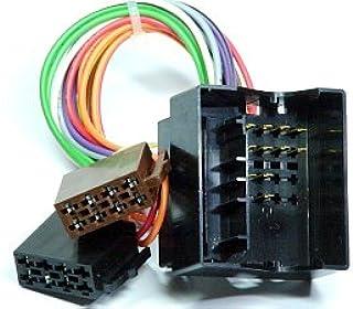 Radio Anschlusskabel geeignet für Ford C MAX | Fiesta| Focus | Fusion | Kuga | Mondeo | S MAX | Transit Quadlock – ISO