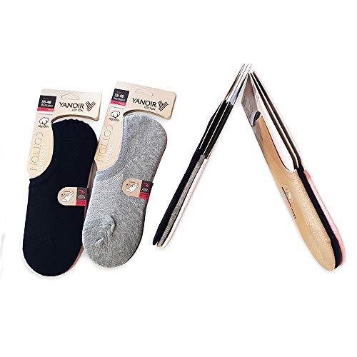 Matbotex-yanoir calcetines de corte bajo de algodón para