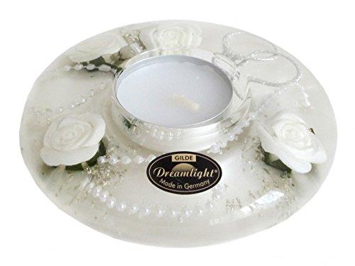 Traumlicht Dreamlight Ufo mini Wedding light white - Teelichthalter Dekoration Hochzeit