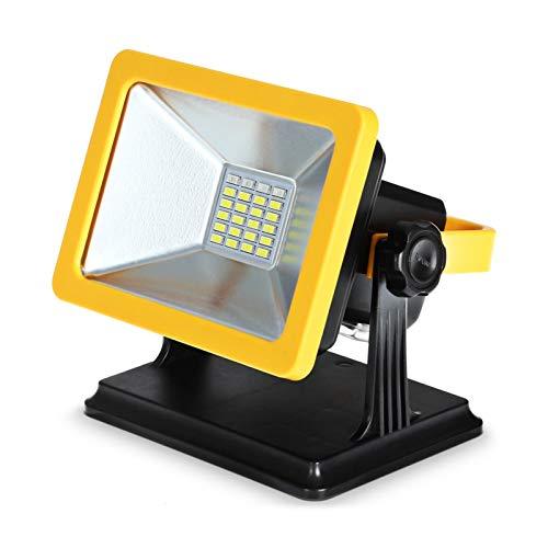 JJSCCMDZ Luz de Camping Luz de Trabajo LED Recargable portátil de 15W con Base magnética...