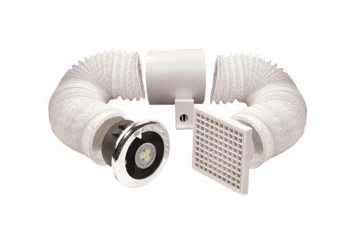 Manrose 100mm LED Shower Light/Extractor Fan