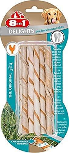 8in1 Delights Twisted Sticks Dental 10 Pièces