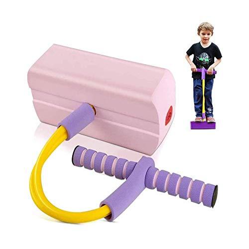 Saltador Jump Stick My First Foam Pogo Jumper para niños Diversión y Safe Pogo Stick para niños pequeños, espuma duradera y jersey de bungee para 3 años de edad, soporta hasta 250 libras (rosa