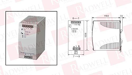 RADWELL VERIFIED SUBSTITUTE SDN-5-24-100P-SUB Power Supply - 90-265V AC Input 24V DC Output 120 WATTS 5A