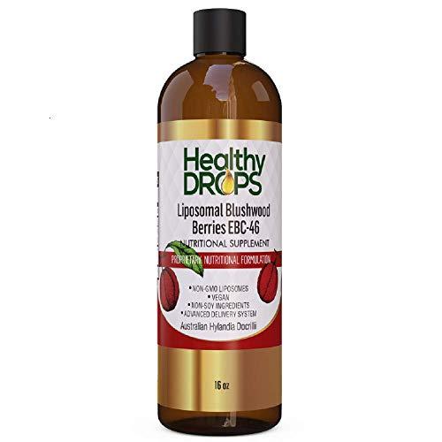 Liposomal Blushwood Berry Extract - EBC-46 Non-GMO Certified (16 oz)