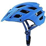 SFBBBO Casco Bicicleta Adulto Casco de Bicicleta de montaña paraHombre, Casco de Bicicleta MTB, Ultraligero, Casco de Carretera, Casco de Ciclismo Integral Moldeado, Azul
