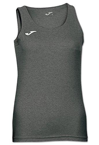 Joma Camiseta Diana Gris Melange Oscuro S/M Woman, Mujer, Oscuro-150