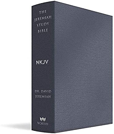 The Jeremiah Study Bible, NKJV: Majestic Black Leatherluxe: What It Says. What It Means. What It Means For You.