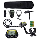 EROSMILE Metal Detector Kit, Adjustable Metal Finder for Adults and Kids with LCD Display,Pinpoint...