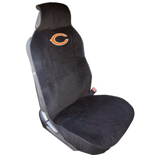 Fremont Die NFL Chicago Bears Car Seat Cover, Standard, Black/Team Colors Georgia