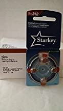 Starkey 312 Hearing Aid Batteries 40 Batteries Total