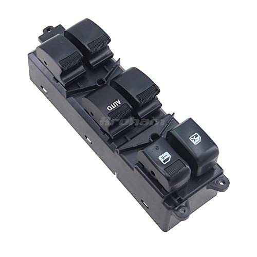 QYSZYG Auto Repair Accessories Electric Power Window Master Switch 8981922511 8-98192251-1 for Isuzu D-Max Dmax Pickup 2012 2013 2014 2015 2016 2017 2018 2019 (Color : 8 98192251 1)