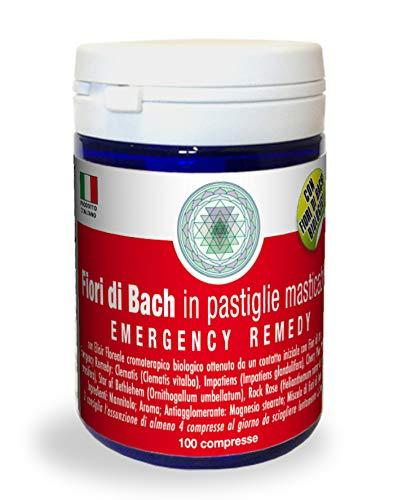 Emergency Remedy Princeps Fiori di Bach 100 Compresse