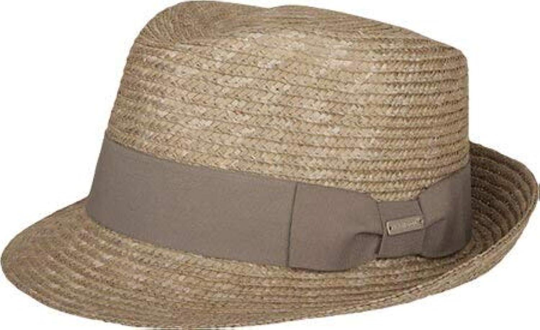 カンゴール ハット 帽子 メンズ Wheat Braid Arnold Trilby Grey