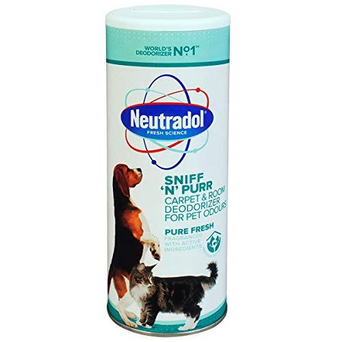 Neutradol Sniff N Purr - Deodorante per tappeti, odore fresco