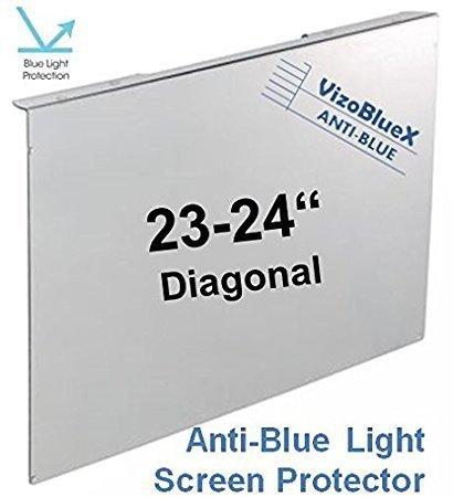 23-24 Zoll VizoBlueX Blaulichtfilter für Computermonitor. Anti-Blaulicht Computer Monitor Bildschirmschutz-Panel (54.5 X 33 cm). Für TV, LCD Fernseher und PC, Mac.Das ist Nicht Schutzfolie