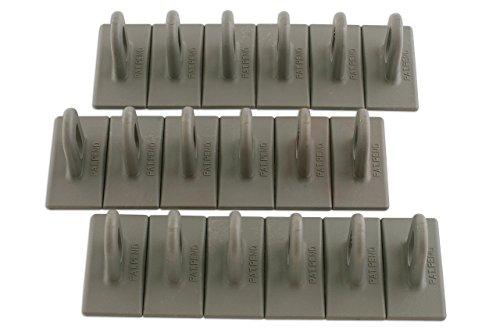 LASER TOOLS Power-Tec 92348 Multipads, Taille : 6/50, Gris, Lot de 3