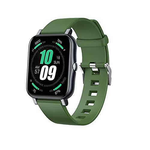 FEDBNET 2021 pulsera inteligente, pantalla táctil ritmo cardíaco presión arterial sueño ejercicio salud monitoreo IP68 impermeable reloj USB carga magnética