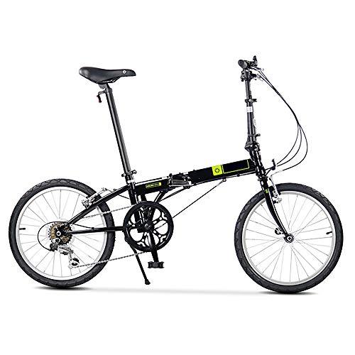 XiXia X Bicicleta Plegable Cambio de Choque Absorción Bloqueo automático Ciclismo Casual...