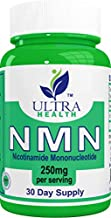 NMN, (Real) Nicotinamide Mononucleotide, Pharmaceutical Grade, 250mg per Serving, Increases NAD Like NR, Pair with Resveratrol and Riboside, NAD+ Supplements