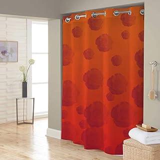 Right Canvas Orange 180cm x 200cm Shower Curtain - RG138NPIC00125