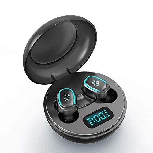 Festnight Auricolari Bluetooth 5.0 Sportivi Cuffie Senza Fili Cuffie Wireless BT con Scatola di Ricarica, Design Stereo a Doppio