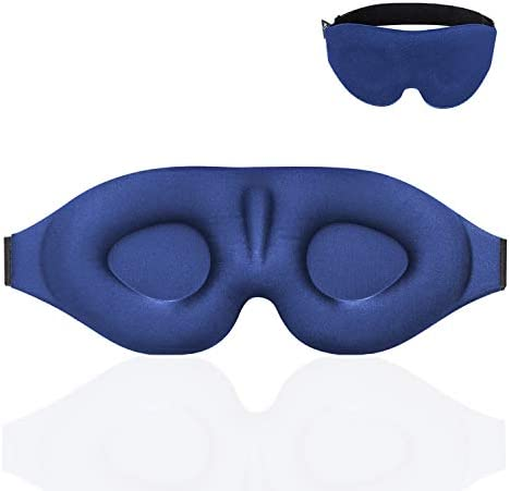 YIVIEW Sleep Mask for Women Men Eye Mask for Sleeping 3D Contoured Cup Blindfold Upgraded Eye product image