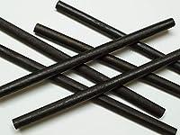 手芸用・木製丸棒こげ茶6本セット