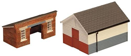 Hornby R9735 North Eastern Railway Platform Shelter & Store by Hornby