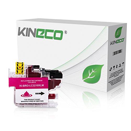 kineco cartucho de tinta compatible con Brother LC de 3219XL MFC-4450j5330dw, de j5730dw MFC-4450j5930dw, de j6530dw MFC-4450j6730dw, de j6930dw–Magenta 17ml