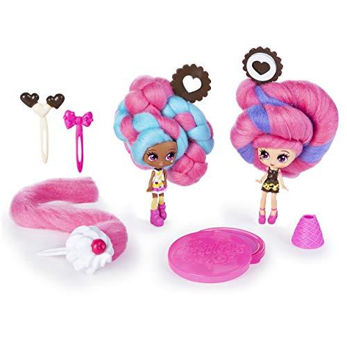 Candylocks 6054718 - Beste vriendinnen 2-pack, Cora Crème en Charli Chip