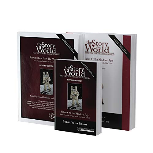 Compare Textbook Prices for Story of the World, Vol. 4 Bundle, Revised Edition: The Modern Age: Text, Activity Book, and Test & Answer Key Story of the World, 10 Revised Edition ISBN 9781945841958 by Bauer, Susan Wise,West, Jeff,Fretto, Mike