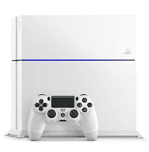 {PlayStation 4 グレイシャー・ホワイト (CUH-1200AB02) 【メーカー生産終了】【Amazon.co.jp限定】特典アンサー PS4用縦置きスタンド付}