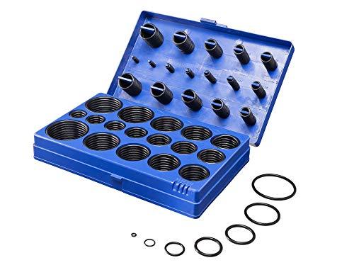 SWV O-Ringe Dichtringe Sortiment 419 tlg. Metrisch 3-50mm für Öl und Druckluft