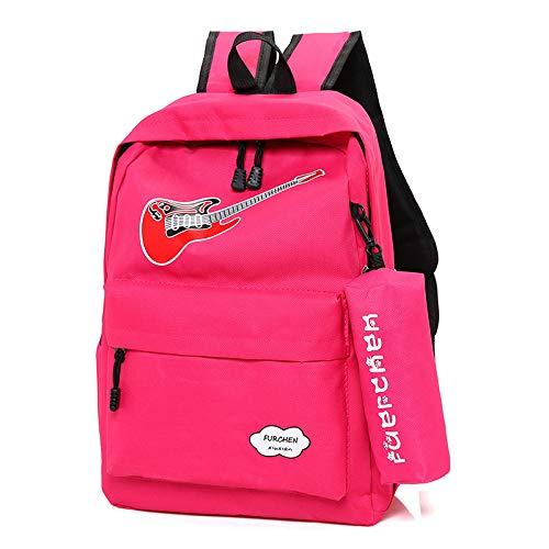 Rucksack Picknick Rucksäcke Casual Running Reiserucksäcke für Frauen wasserdichte College School Bookbag Passt Laptop und Notebook