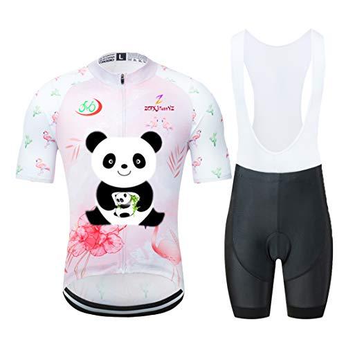 ZCFX Deportes al aire libre, summer SKY manga corta + Correa Pantalones,Montar ropa set, higroscópico, transpiración, Montar ropa,YJ09-4
