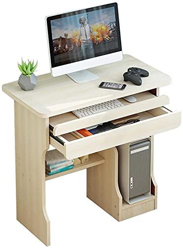 ASNHJH Mesa De Ordenador De Escritorio, Mesa De Estudio De Estaciones De Trabajo Informáticas, Mini Mesa De Juego Moderna para Escritorio, Fácil De Instalar (Color : Beige-b, Talla : 70x50x72cm)