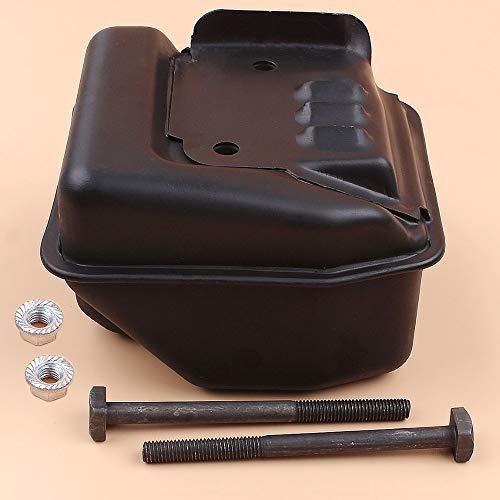 Kit de pernos de protección térmica para silenciador de escape para STIHL MS250 MS230 025023 11231413200/11231400606