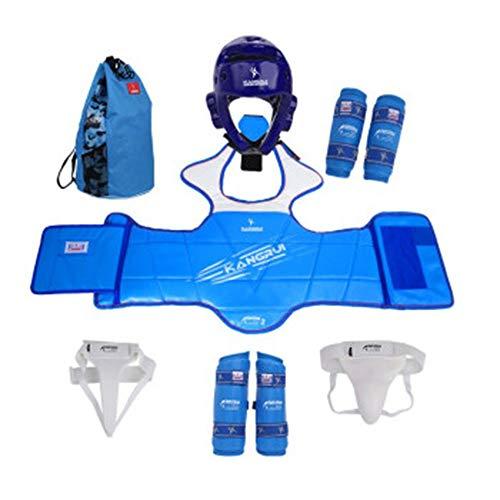 ZLBZBB Taekwondo Kit-Durable Kinder Taekwondo Groin Armband, Boxen Karate Boxen Schutzausrüstung, Robuste, Schutz Sparring S