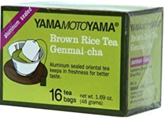 Yamamotoyama YMY Genmai-Cha GreenTea with Roasterd Brown Rice - 16 Tea Bags