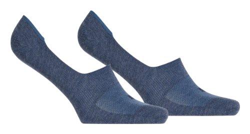 Puma sokken Footie 2-pak, denimblauw, 43-46, 141011001
