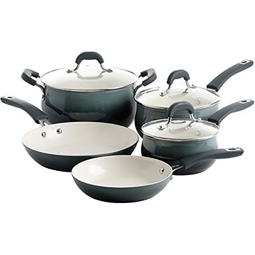 Oster Corbett Forged Aluminum Cookware Set with...