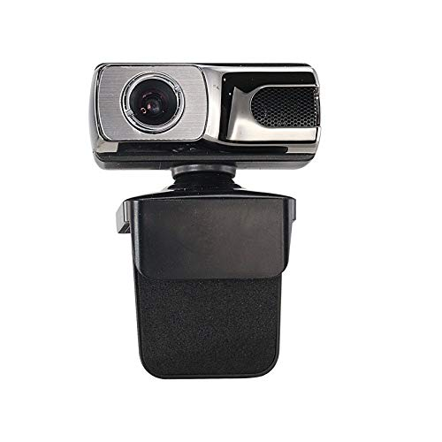 Cfdias HD 720P USB Web Camer, Manual Focus Webcam with Microphone, Computer Camera Drive-Free Video Call for WINXP / WIN8 / MAC OS/Android