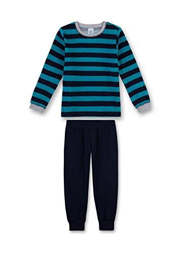 Sanetta Jungen 231990 Zweiteiliger Schlafanzug, Türkis (Petrol 50243), 92